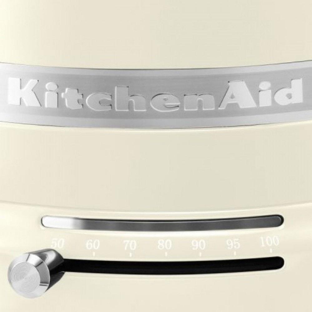 Чайник электрический KitchenAid, объем 1,5 л, кремовый KitchenAid 5KEK1522EAC фото 1