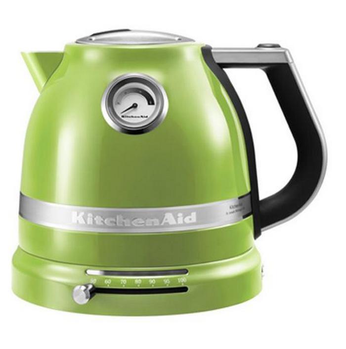Онлайн каталог PROMENU: Чайник электр.1,5 л KitchenAid  Зеленое Яблоко (5KEK1522EGA) KitchenAid 5KEK1522EGA