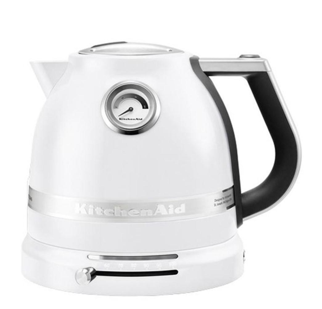 Чайник электр.1,5 л KitchenAid  Морозный Жемчуг (5KEK1522EFP) KitchenAid 5KEK1522EFP фото 1
