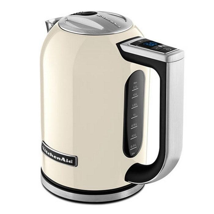 Онлайн каталог PROMENU: Чайник электрический KitchenAid, объем 1,7 л, кремовый KitchenAid 5KEK1722EAC