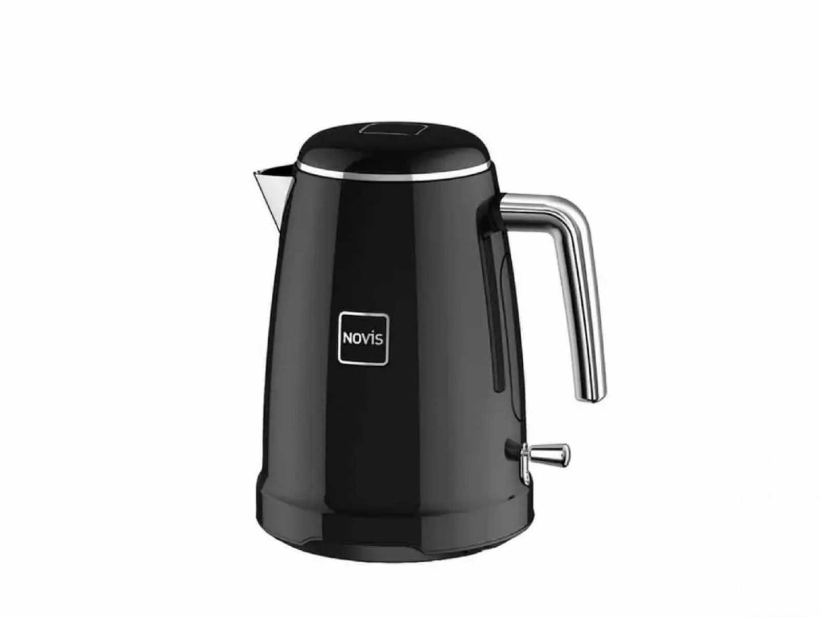 Онлайн каталог PROMENU: Чайник электрический Novis Kettle K1, объем 1,7 л, черный                               6113.03.20