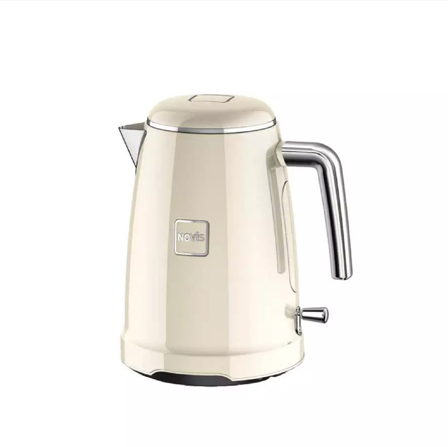 Онлайн каталог PROMENU: Чайник электрический Novis Kettle K1, объем 1,7 л, кремовый                               6113.09.20