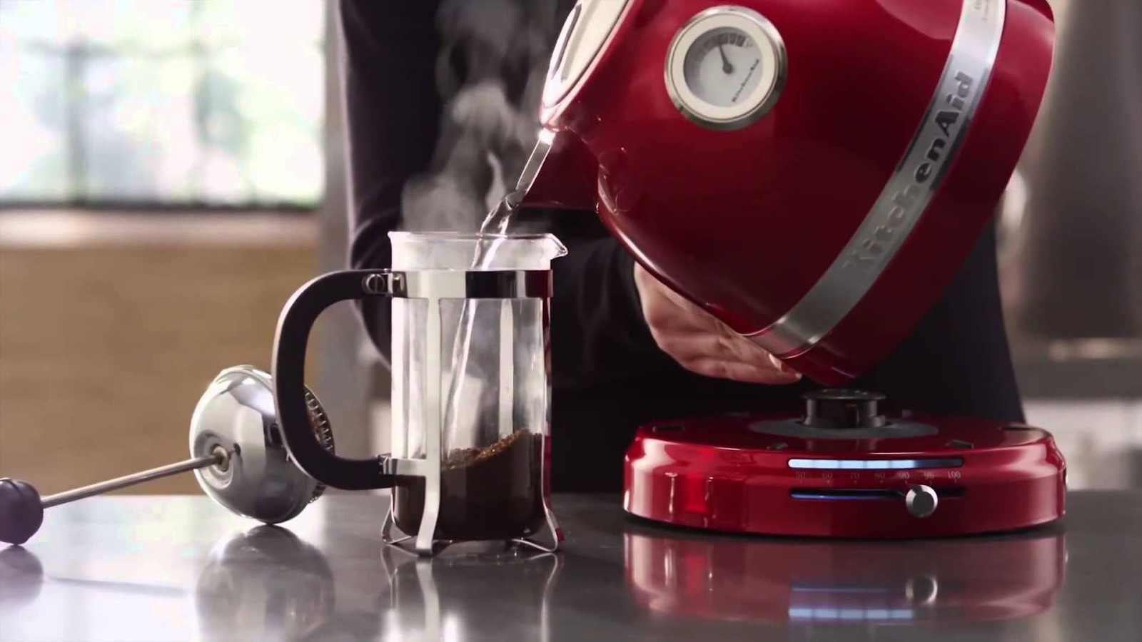 Чайник электрический1,5 л KitchenAid  Красный (5KEK1522EER) KitchenAid 5KEK1522EER фото 2