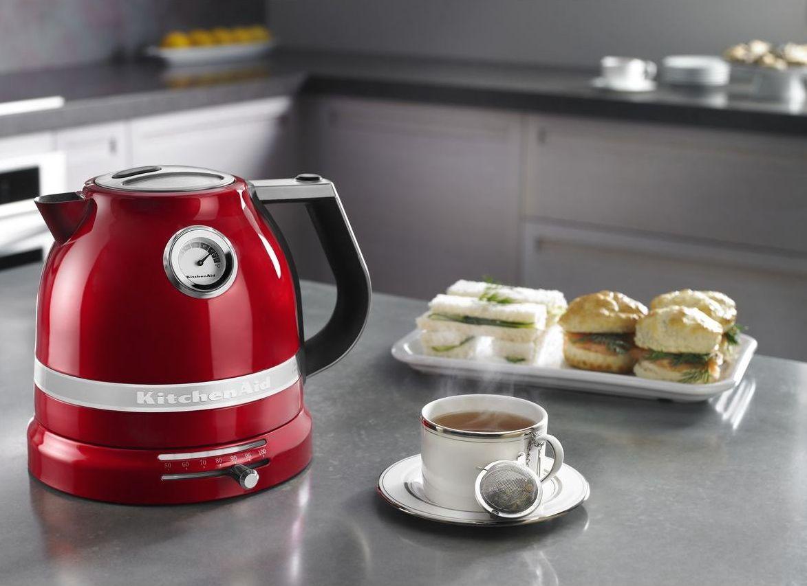 Чайник электрический1,5 л KitchenAid  Красный (5KEK1522EER) KitchenAid 5KEK1522EER фото 3
