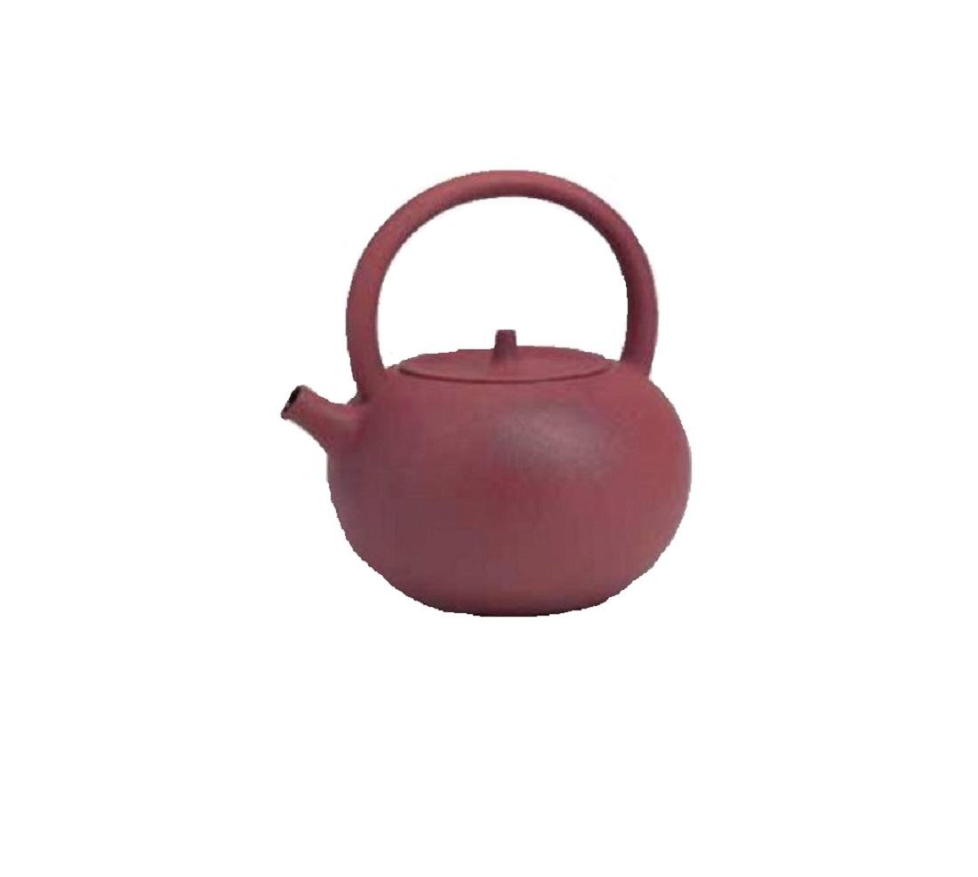 Онлайн каталог PROMENU: Чайник фарфоровый заварной индукционный для чайной церемонии TeaLogic, объем 1,2 л, бордовый                               120 160