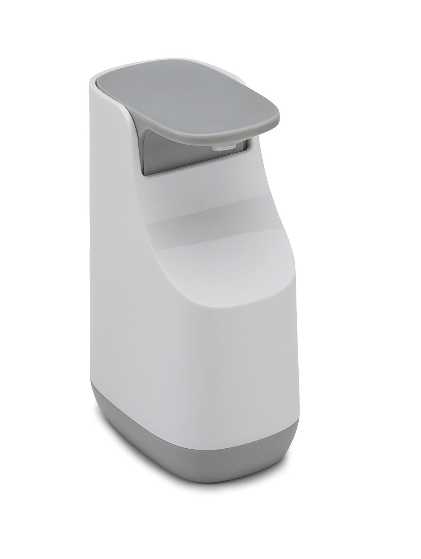 Онлайн каталог PROMENU: Диспенсер пластиковый для жидкого мыла Joseph Joseph BATHROOM, 5,7x8,6x14,3 см, серый Joseph Joseph 70512