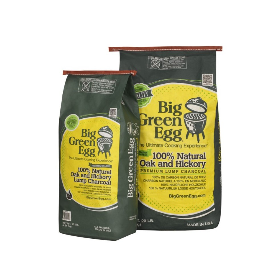 Онлайн каталог PROMENU: Древесный уголь органический, кусковой, премиум-класса Big Green Egg, 9 кг                               CP/390011