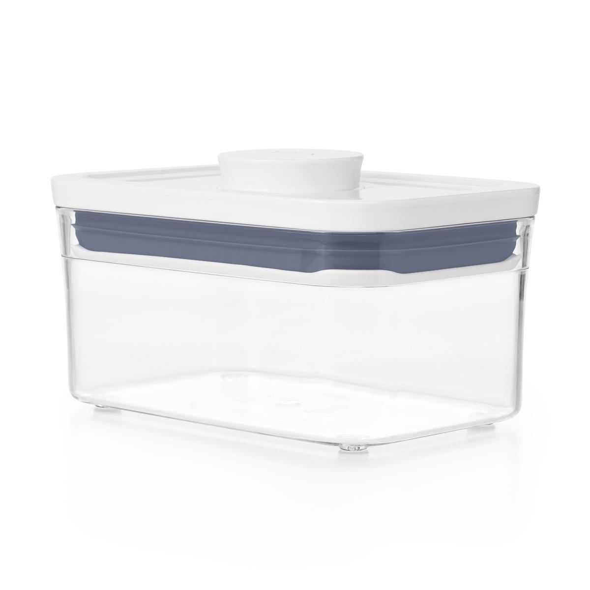 Онлайн каталог PROMENU: Емкость для хранения с всплывающей кнопкой OXO FOOD STORAGE, 16х10,5х8 см, объем 0,6 л, прозрачный OXO 11234700