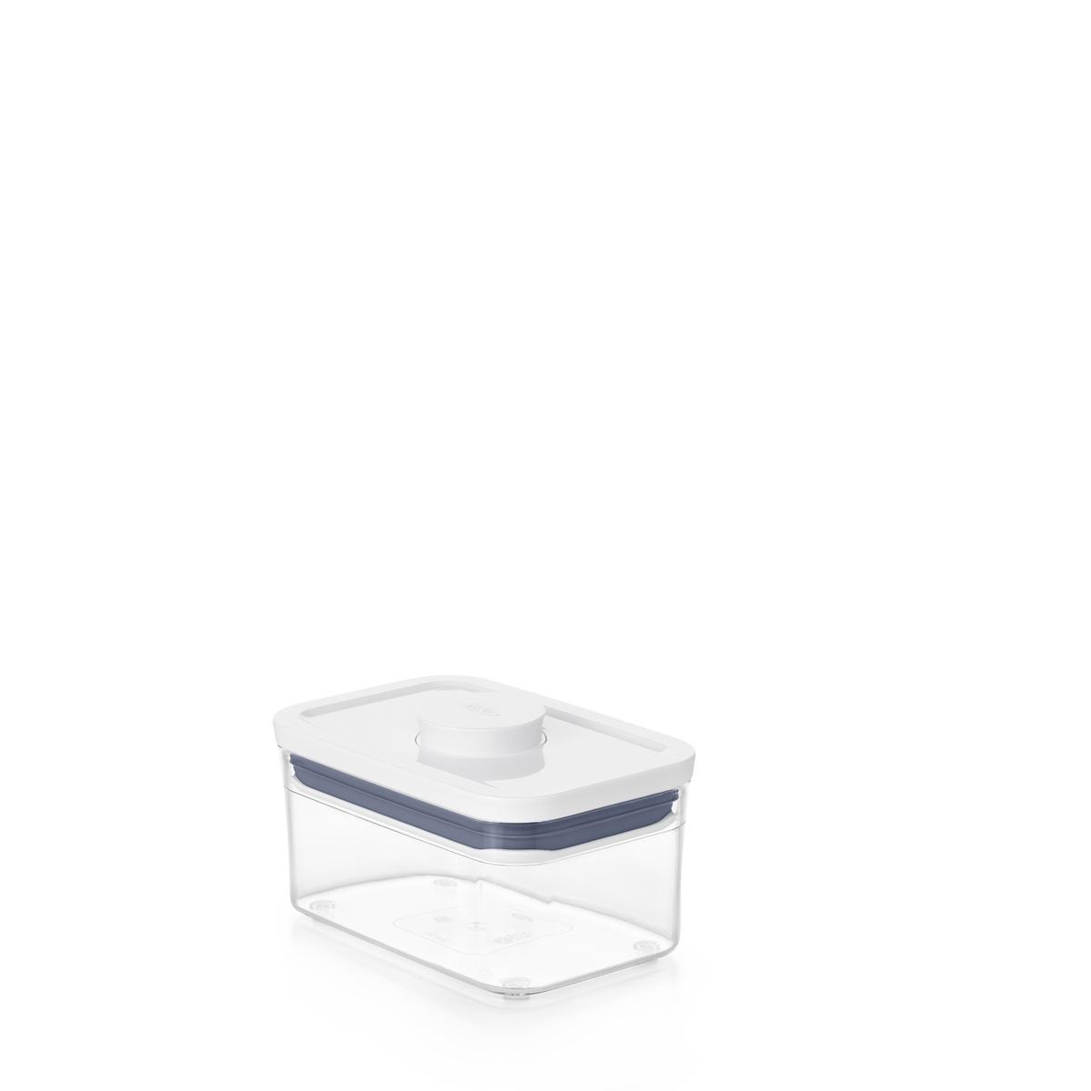 Емкость для хранения с всплывающей кнопкой OXO FOOD STORAGE, 16х10,5х8 см, объем 0,6 л, прозрачный OXO 11234700 фото 9