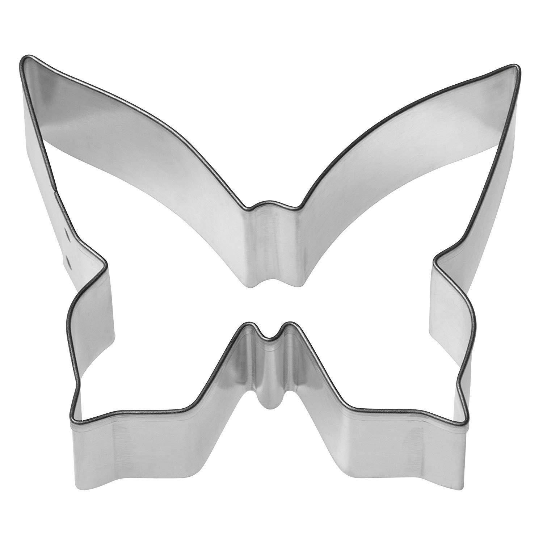 """Онлайн каталог PROMENU: Форма для печенья """"Бабочка"""" Kaiser Backform COOKIE, нержавеющая сталь, 7,5x6x2,5 см, серебристый                                   23 0071 1232"""