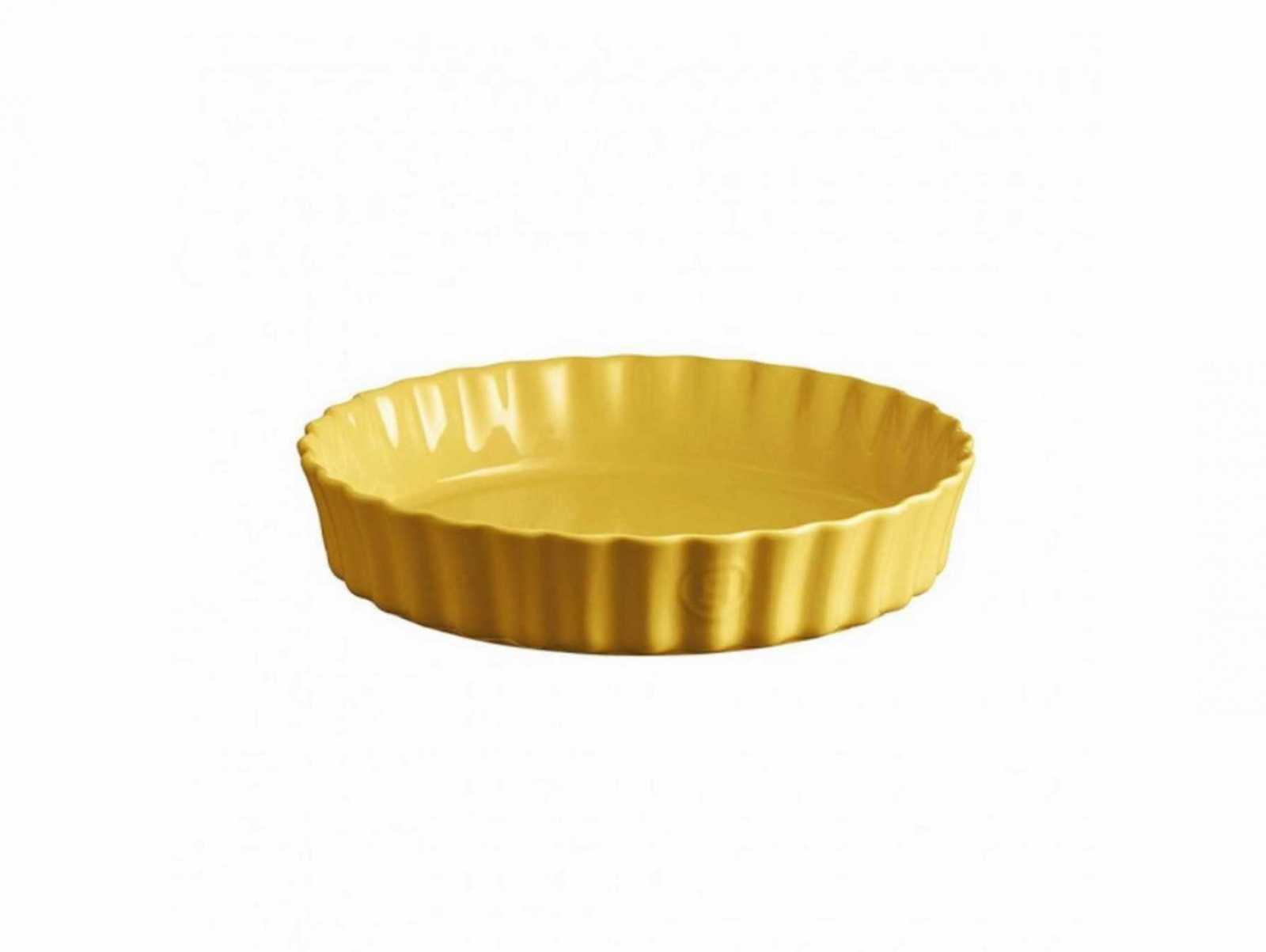 Онлайн каталог PROMENU: Форма для запекания Emile Henry OVENWARE, диаметр 29 см, желтый                               906028