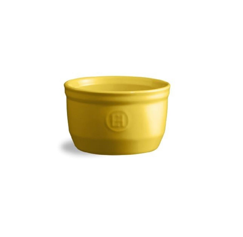 Онлайн каталог PROMENU: Форма порционная Emile Henry OVENWARE, диаметр 10,5 см, объем 0,25 л, желтый Emile Henry 901010
