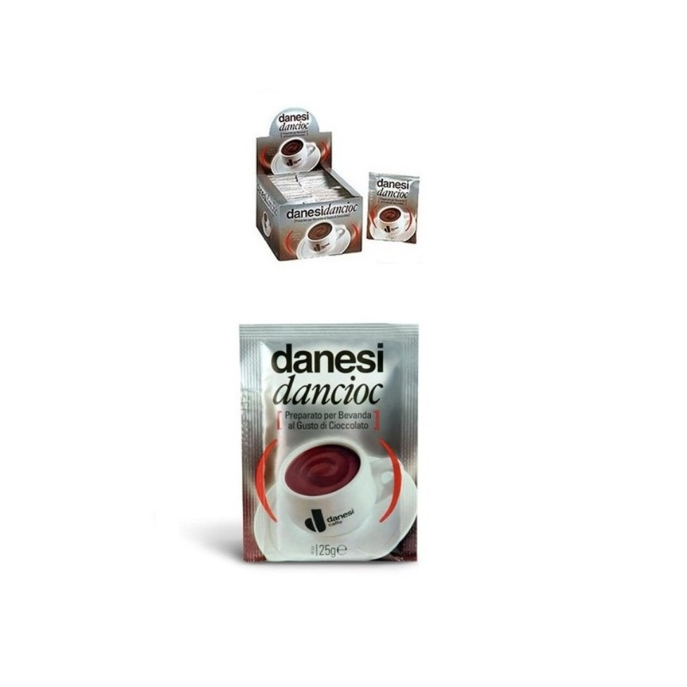 Онлайн каталог PROMENU: Горячий шоколад Danesi DANCIOC, 40 пакетов Danesi 6010030