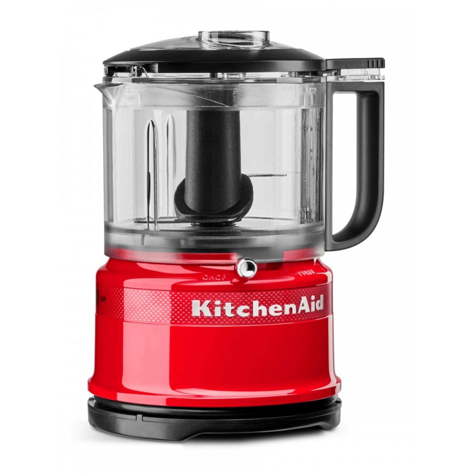 Измельчитель KitchenAid Queen of Hearts, объем 0,83 л, 22,2x17,8x14,3 см, чувственный красный KitchenAid 5KFC3516HESD фото 3