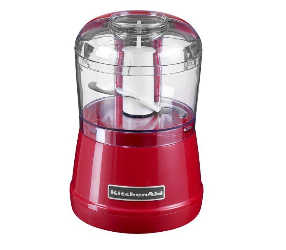 Онлайн каталог PROMENU: Измельчитель продуктов KitchenAid, объем 0,83 л, 2 скорости, красный                                   5KFC3515EER