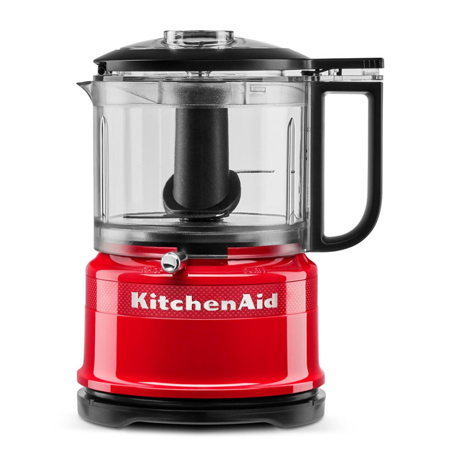 Онлайн каталог PROMENU: Измельчитель KitchenAid Queen of Hearts, объем 0,83 л, 22,2x17,8x14,3 см, чувственный красный                               5KFC3516HESD