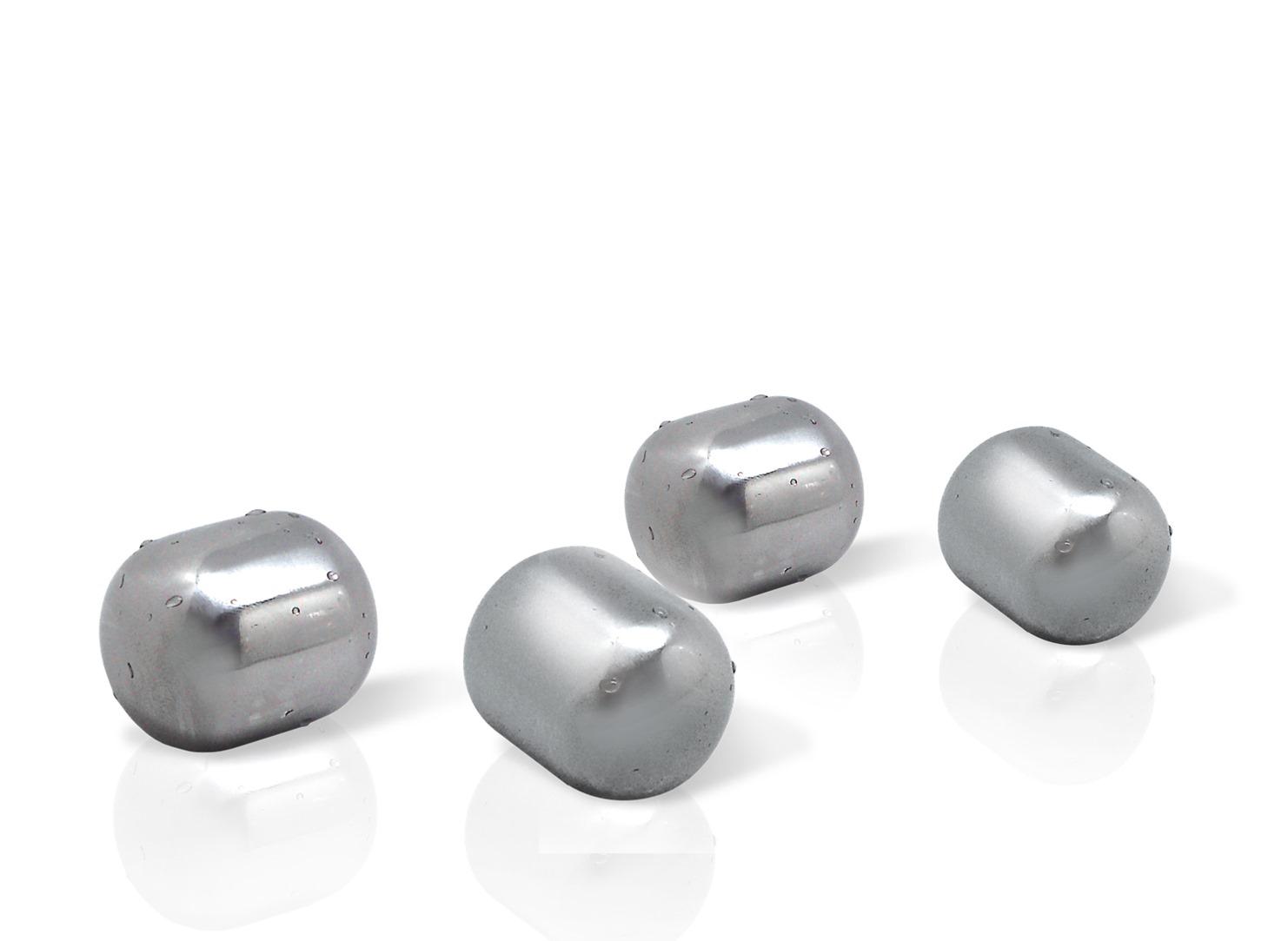 Онлайн каталог PROMENU: Камни для охлаждения металлические VinBouquet TO CHILL, 4 штуки                               FIE 019