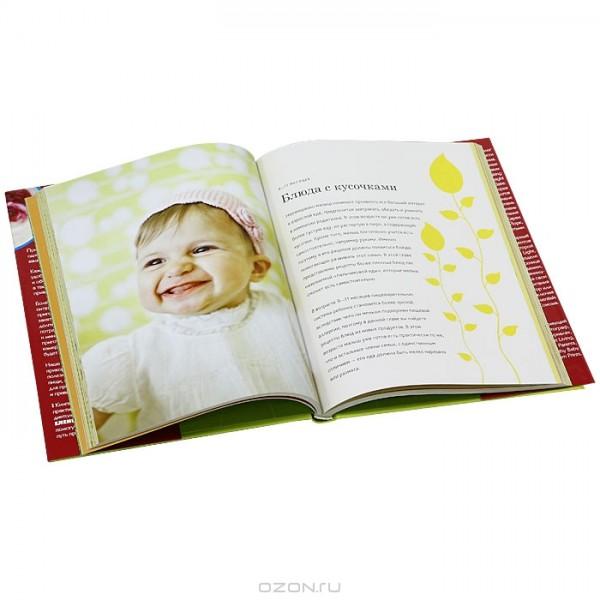 Книга «Детское питание от 6 месяцев до 3 лет» Books Books AF01 фото 1
