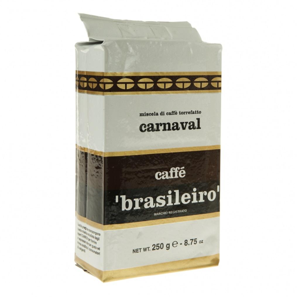 Кофе Brasileiro Carnaval Danesi, 0,25 кг, вакуумный пакет Danesi 2010340 фото 1