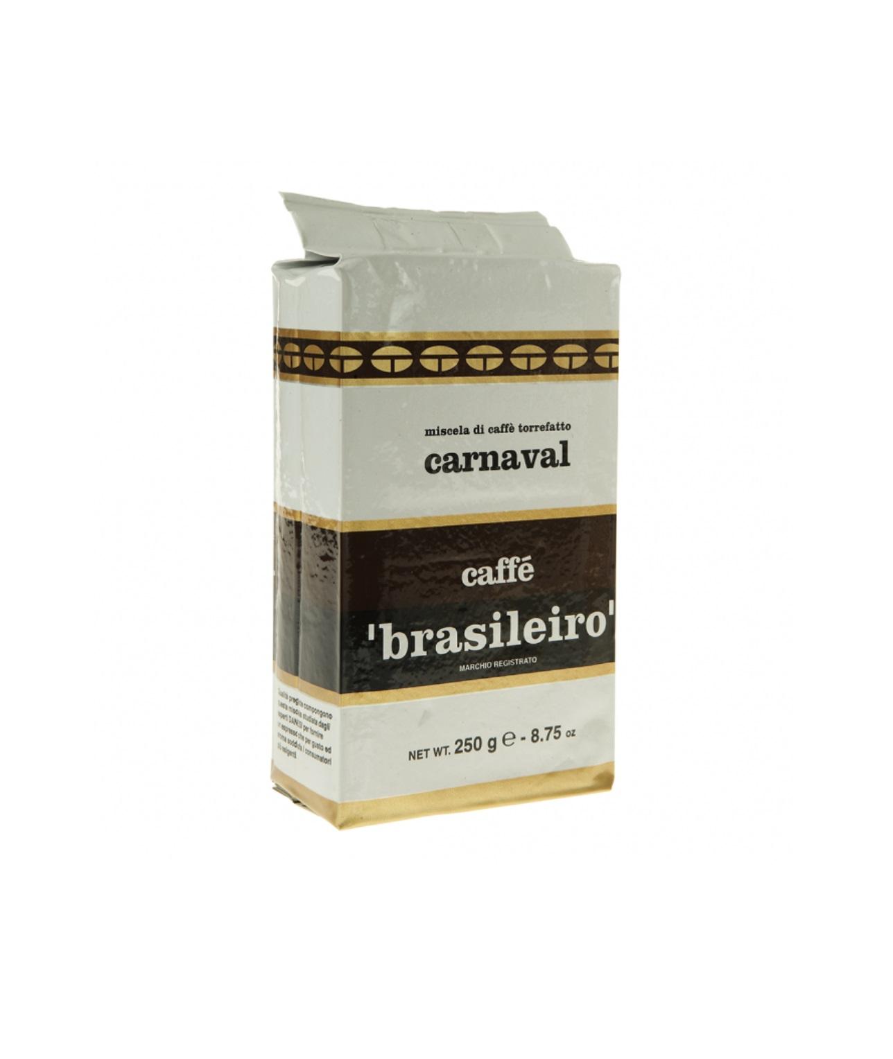 Онлайн каталог PROMENU: Кофе Brasileiro Carnaval Danesi, 0,25 кг, вакуумный пакет Danesi 2010340