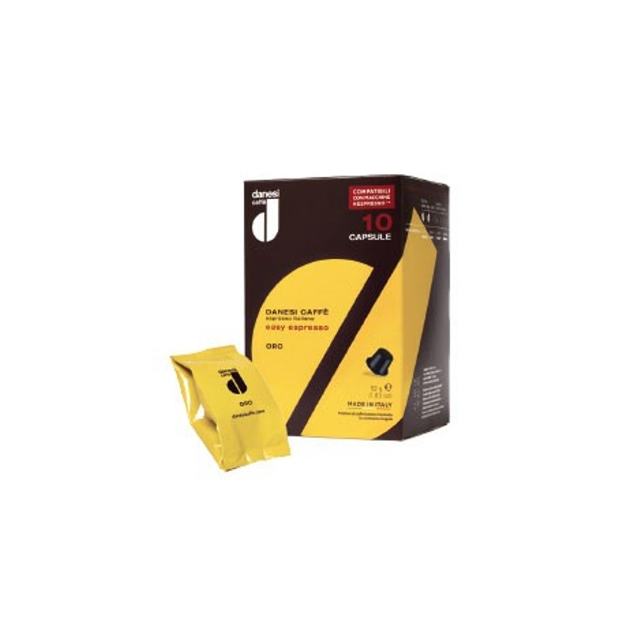 Онлайн каталог PROMENU: Кофе Gold в капсулах Danesi, 10 штук                               2010110