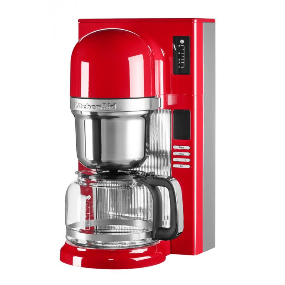 Онлайн каталог PROMENU: Кофемашина капельная заливного типа KitchenAid, объем 1,18 л, красный                               5KCM0802EER