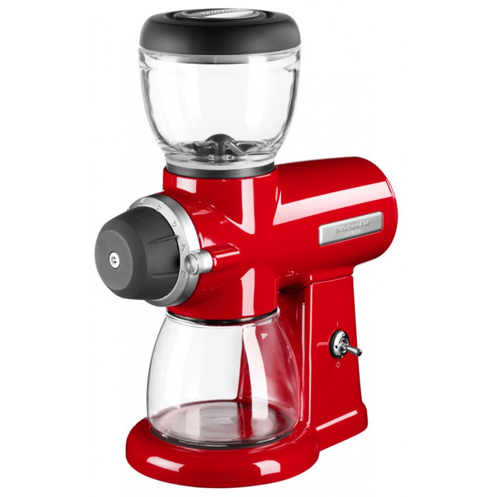 Онлайн каталог PROMENU: Кофемолка KitchenAid Artisan, красный                               5KCG0702EER