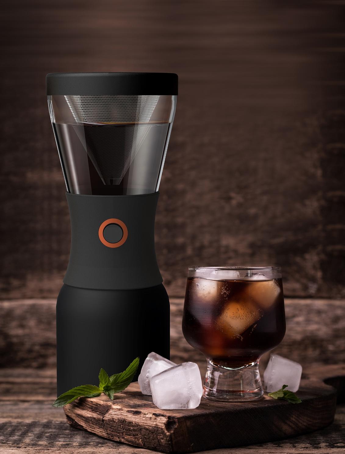 Кофеварка портативная Asobu COLD BREWCOFFEE, 1,1 л, черный Asobu KB900 BLACK фото 9