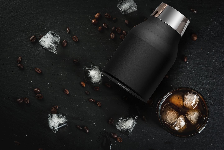 Кофеварка портативная Asobu COLD BREWCOFFEE, 1,1 л, черный Asobu KB900 BLACK фото 10
