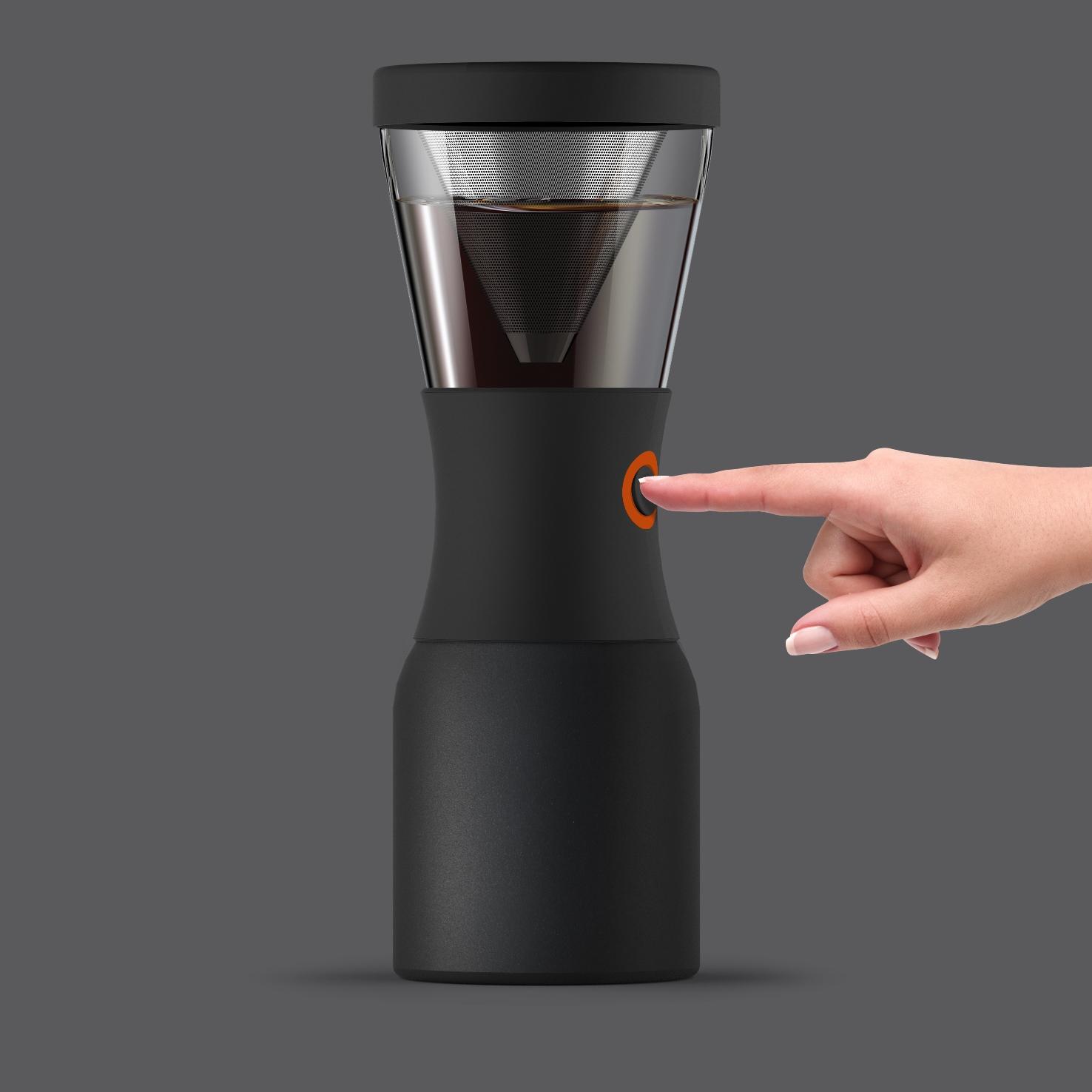 Кофеварка портативная Asobu COLD BREWCOFFEE, 1,1 л, черный Asobu KB900 BLACK фото 5