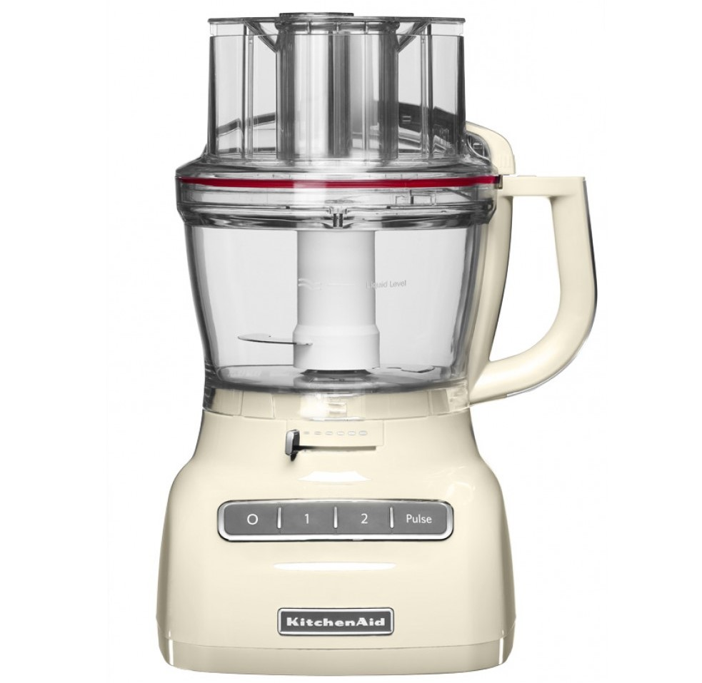 Онлайн каталог PROMENU: Кухонный комбайн KitchenAid, объем 3,1 л, кремовый                                   5KFP1335EAC