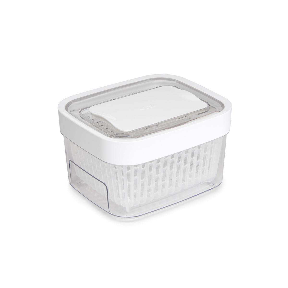 Онлайн каталог PROMENU: Контейнер для хранения с клапаном OXO FOOD STORAGE, 15х17х10 см, белый                               11139900