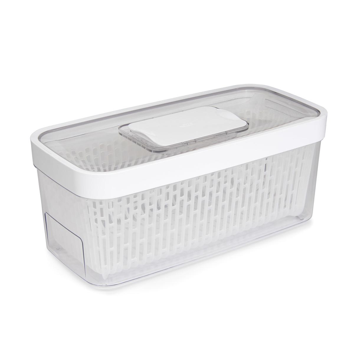 Онлайн каталог PROMENU: Контейнер для хранения с клапаном OXO FOOD STORAGE, 16х33х14 см, белый                               11140100
