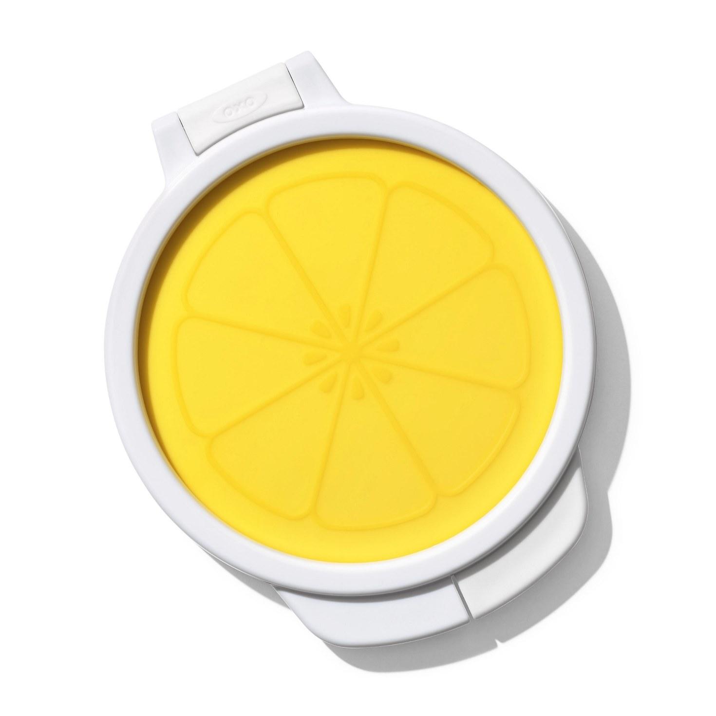 Контейнер гибкий для хранения лимона ОХО FOOD STORAGE, желтый OXO 11249800 фото 2