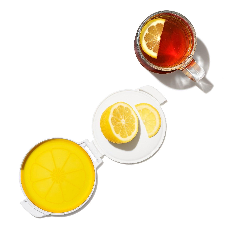 Контейнер гибкий для хранения лимона ОХО FOOD STORAGE, желтый OXO 11249800 фото 4