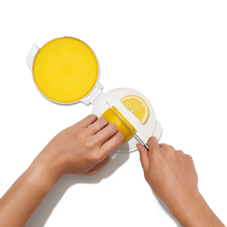Контейнер гибкий для хранения лимона ОХО FOOD STORAGE, желтый OXO 11249800 фото 7