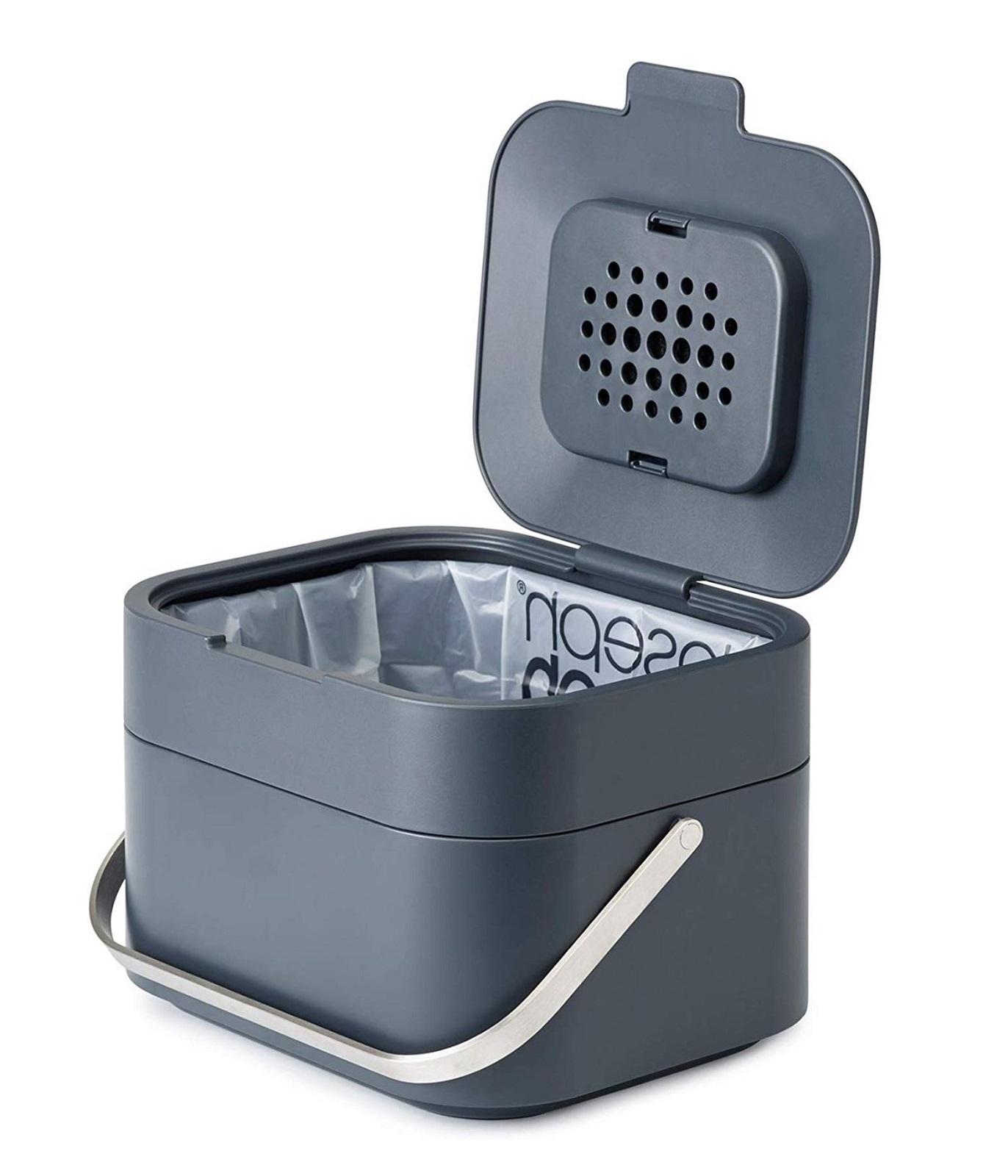 Онлайн каталог PROMENU: Контейнер для мусора Joseph Joseph STACK, объем 4 л, серый Joseph Joseph 30016