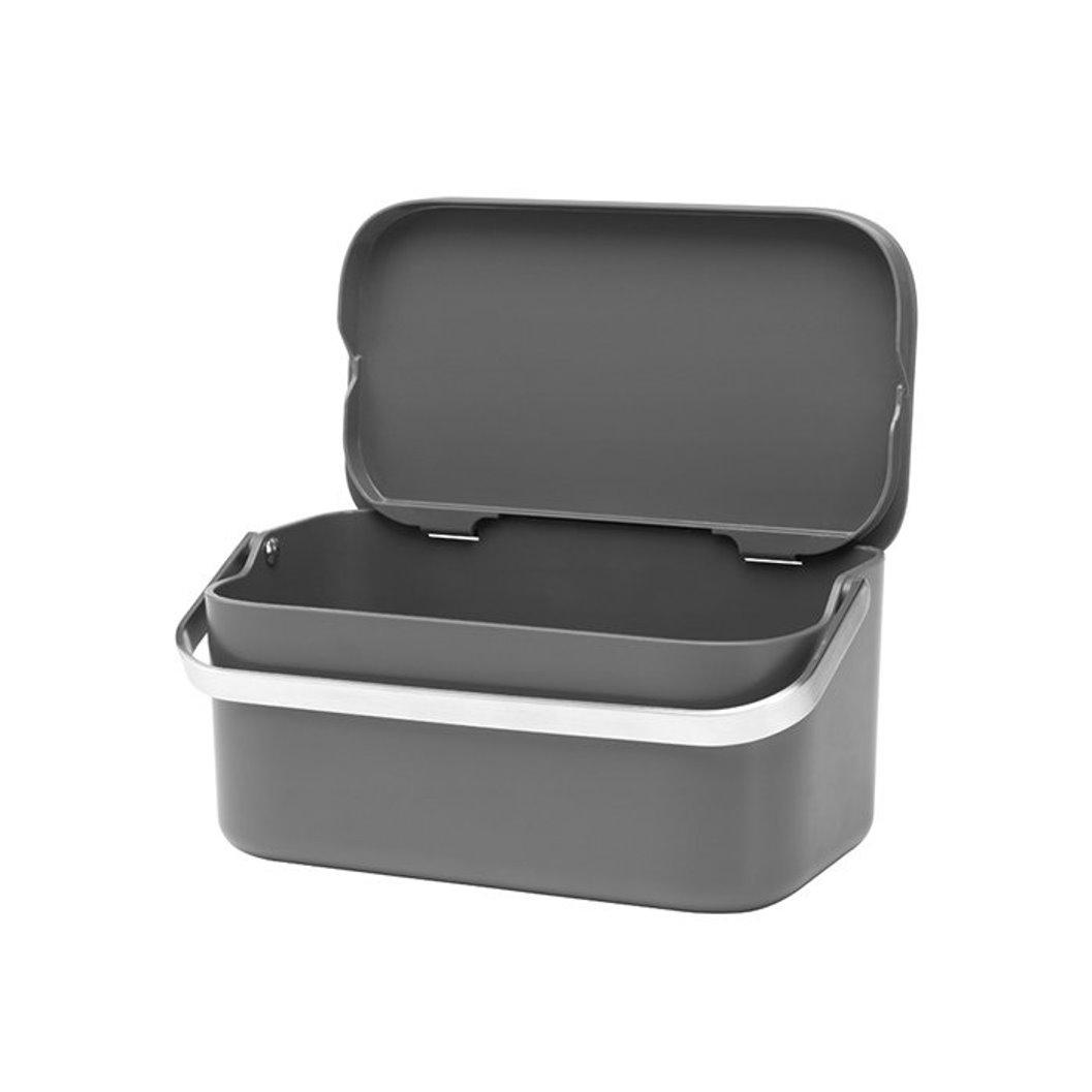 Онлайн каталог PROMENU: Контейнер для пищевых отходов Brabantia, 10,7х22,1х12,7 см, серый Brabantia 117541