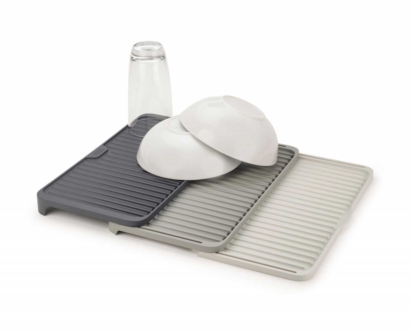 Онлайн каталог PROMENU: Коврик для сушки посуды раскладной Joseph Joseph Tier™, серый Joseph Joseph 85178