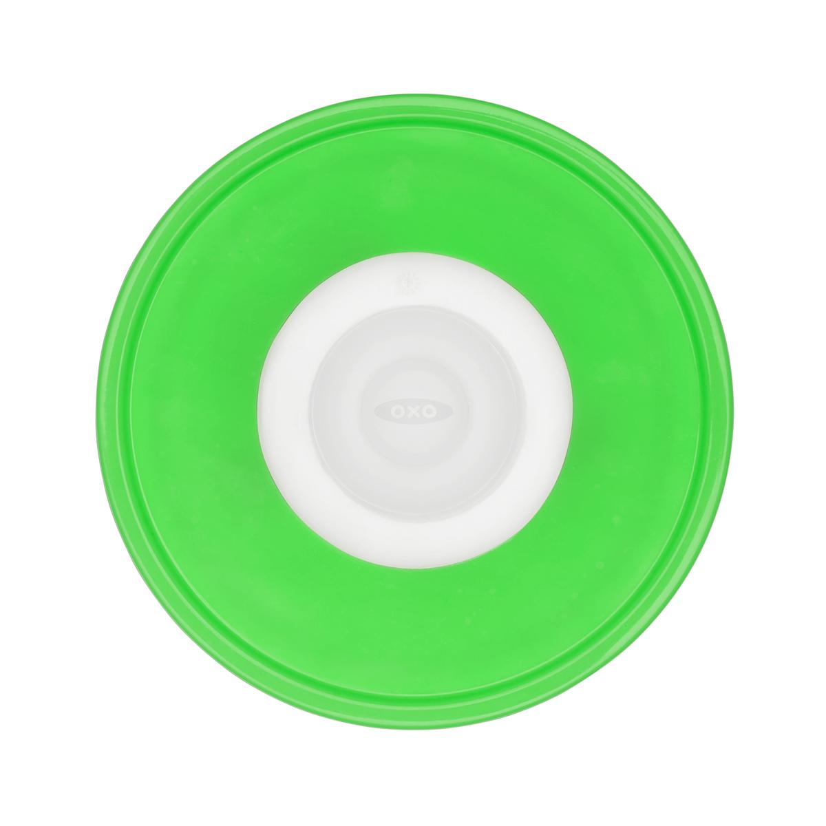 Онлайн каталог PROMENU: Крышка силиконовая маленькая OXO FOOD STORAGE, диаметр 15,2 см, зеленый OXO 11242300