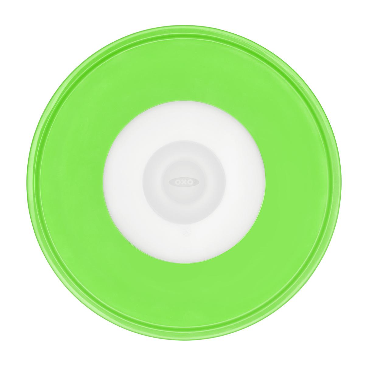 Онлайн каталог PROMENU: Крышка силиконовая средняя OXO FOOD STORAGE, диаметр 20,3 см, зеленый OXO 11242400