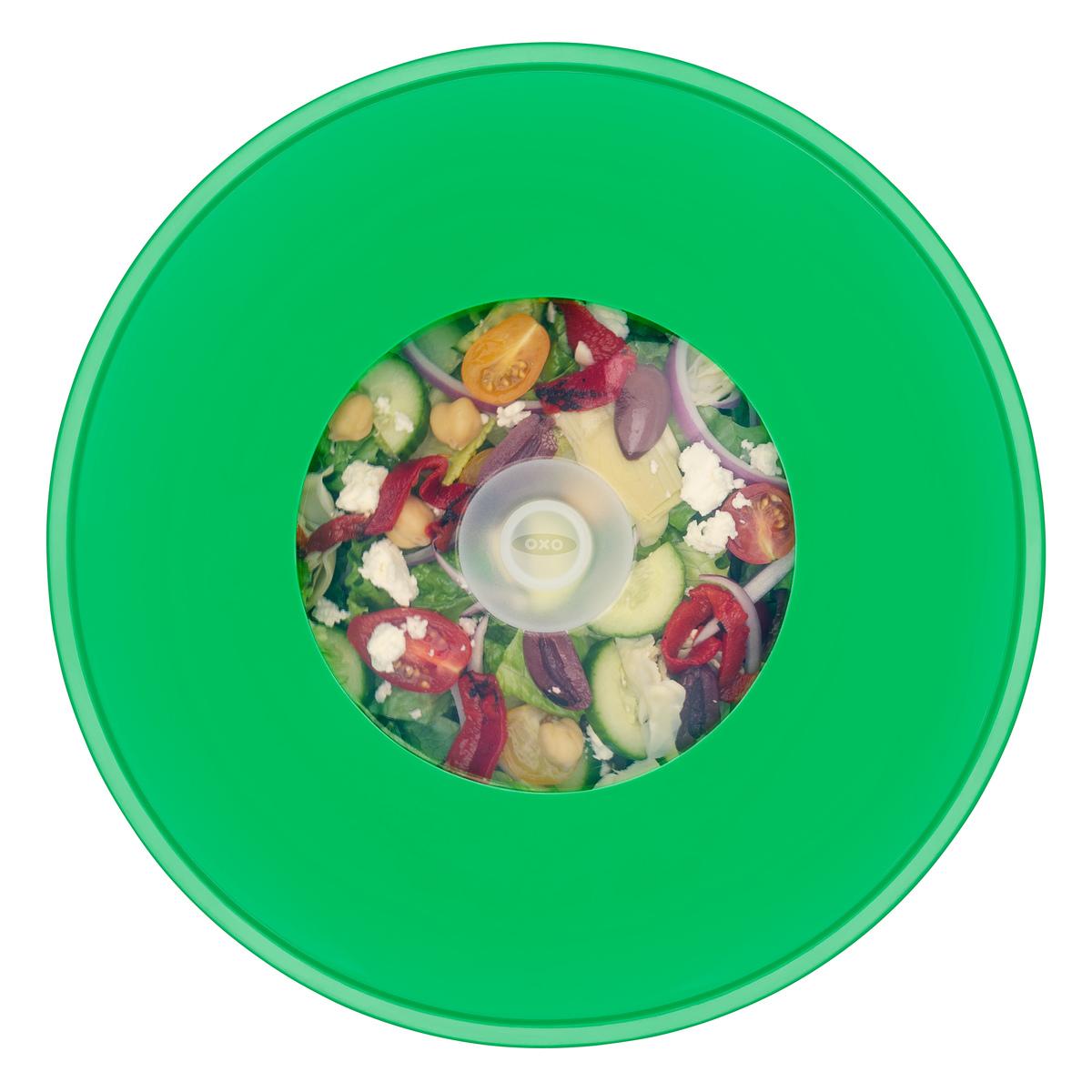 Крышка силиконовая большая OXO FOOD STORAGE, диаметр 28 см, зеленый OXO 11242500 фото 3