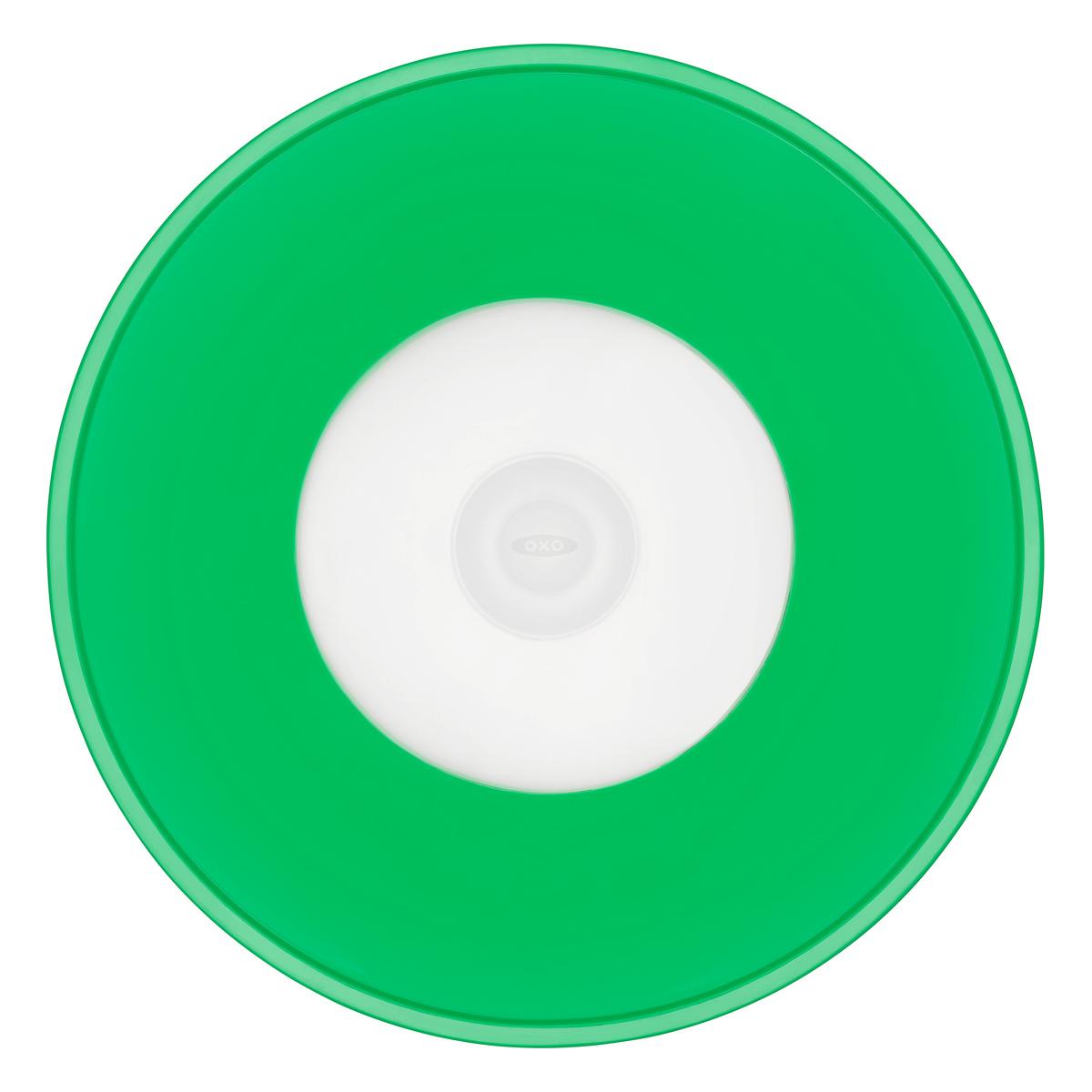 Онлайн каталог PROMENU: Крышка силиконовая большая OXO FOOD STORAGE, диаметр 28 см, зеленый OXO 11242500