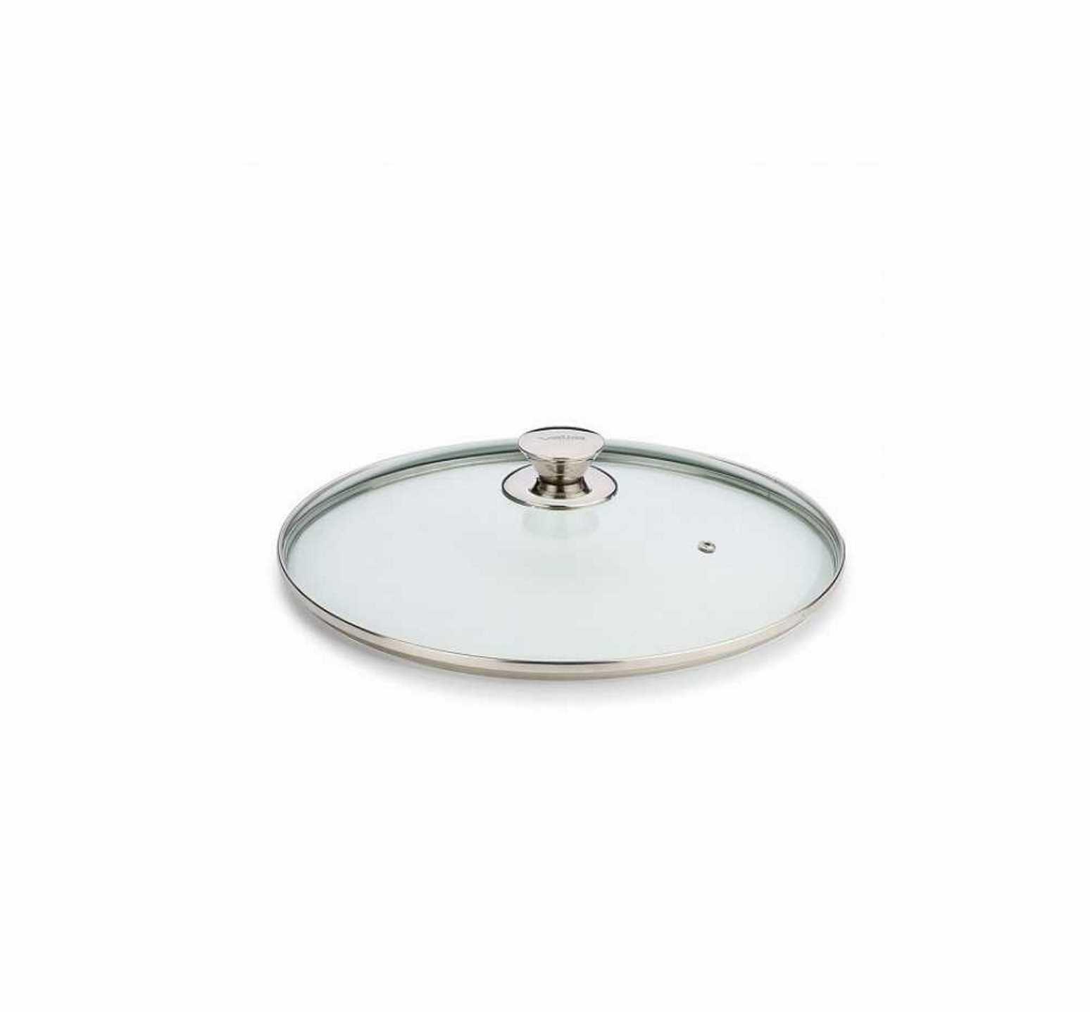 Онлайн каталог PROMENU: Крышка стеклянная Valira AIRE, диаметр 24 см, прозрачный Valira 4902