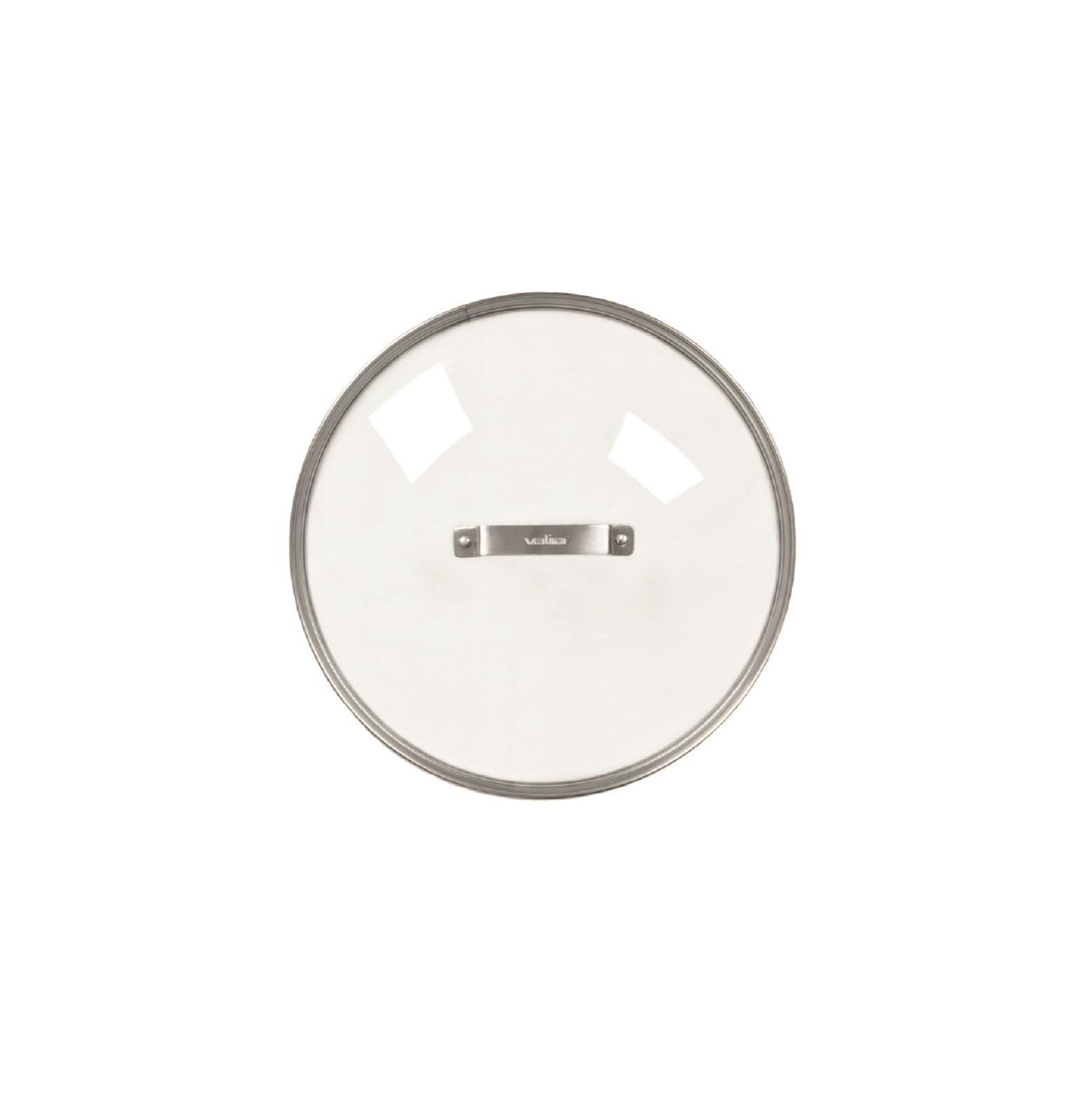 Онлайн каталог PROMENU: Крышка стеклянная Valira AIRE, диаметр 28 см  4910/