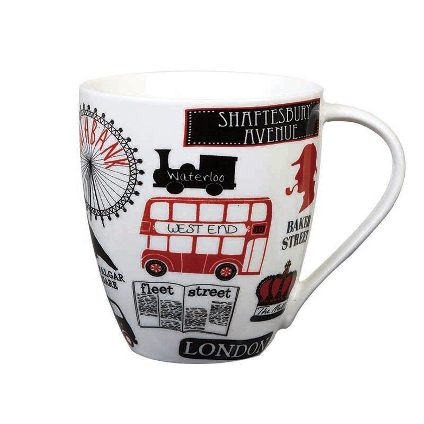 Онлайн каталог PROMENU: Кружка Churchill JAMES SADLER LONDON LIFE, объем 0,5 л, белый                               JSLC00541