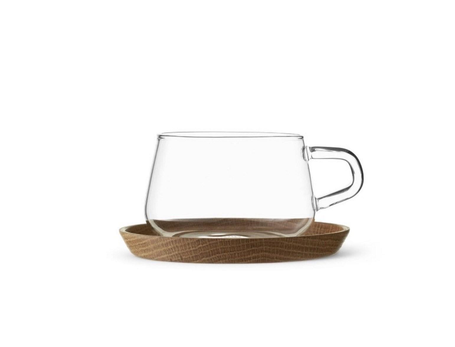 Онлайн каталог PROMENU: Кружка для чая с блюдцем Viva Scandinavia CLASSIC, объем 0,25 л, прозрачный Viva Scandinavia V75800