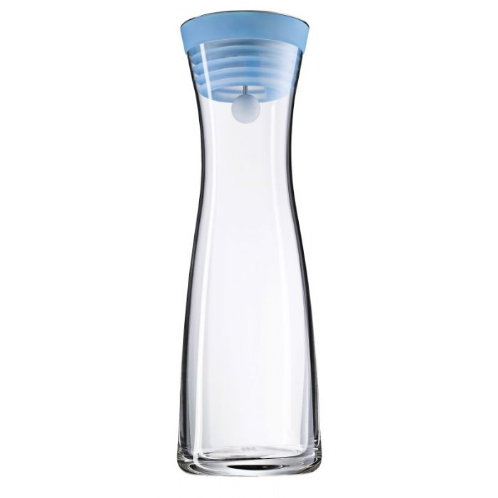 Онлайн каталог PROMENU: Кувшин для воды WMF BASIC WATER, объем 1 л, прозрачный с синим WMF 06 1770 6790