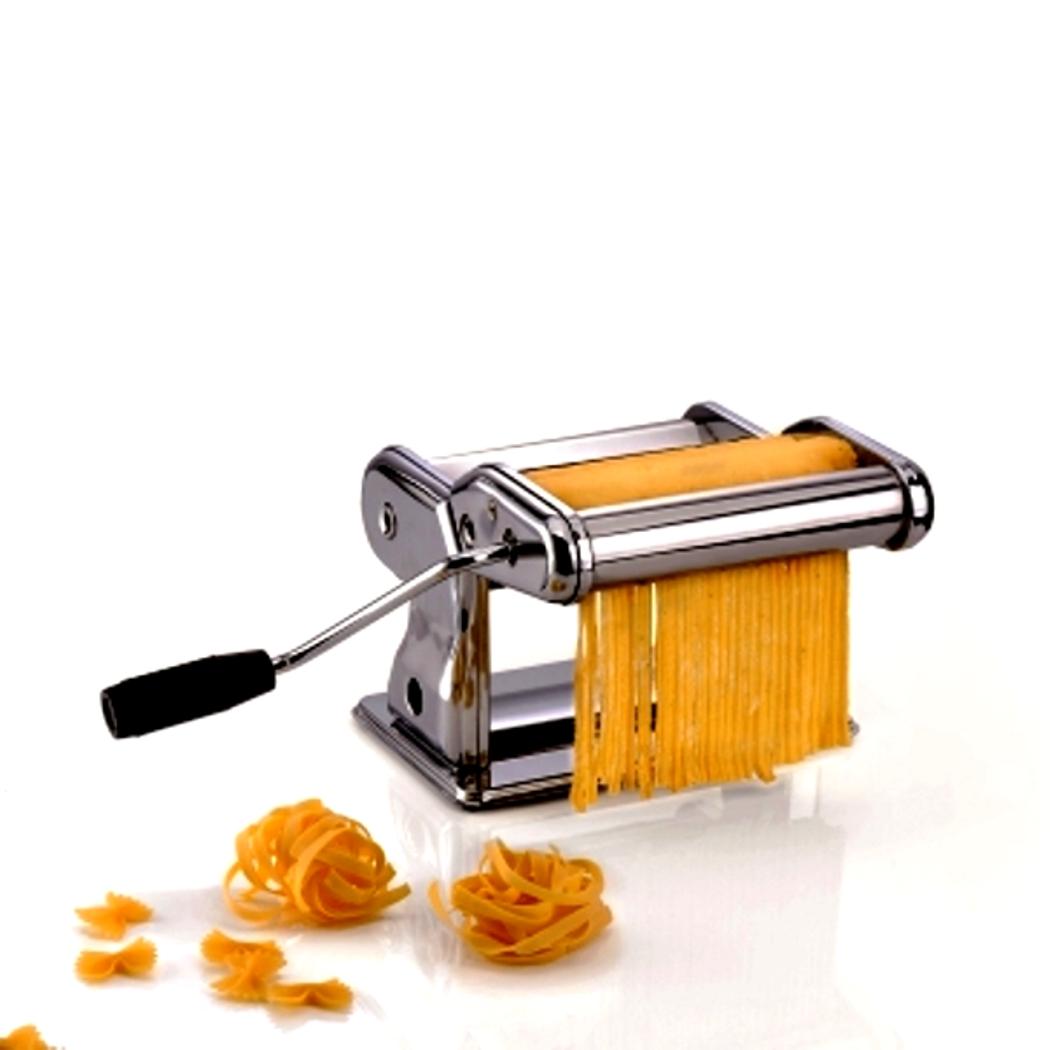 Онлайн каталог PROMENU: Машинка для приготовления пасты GEFU, серебристый                               28240