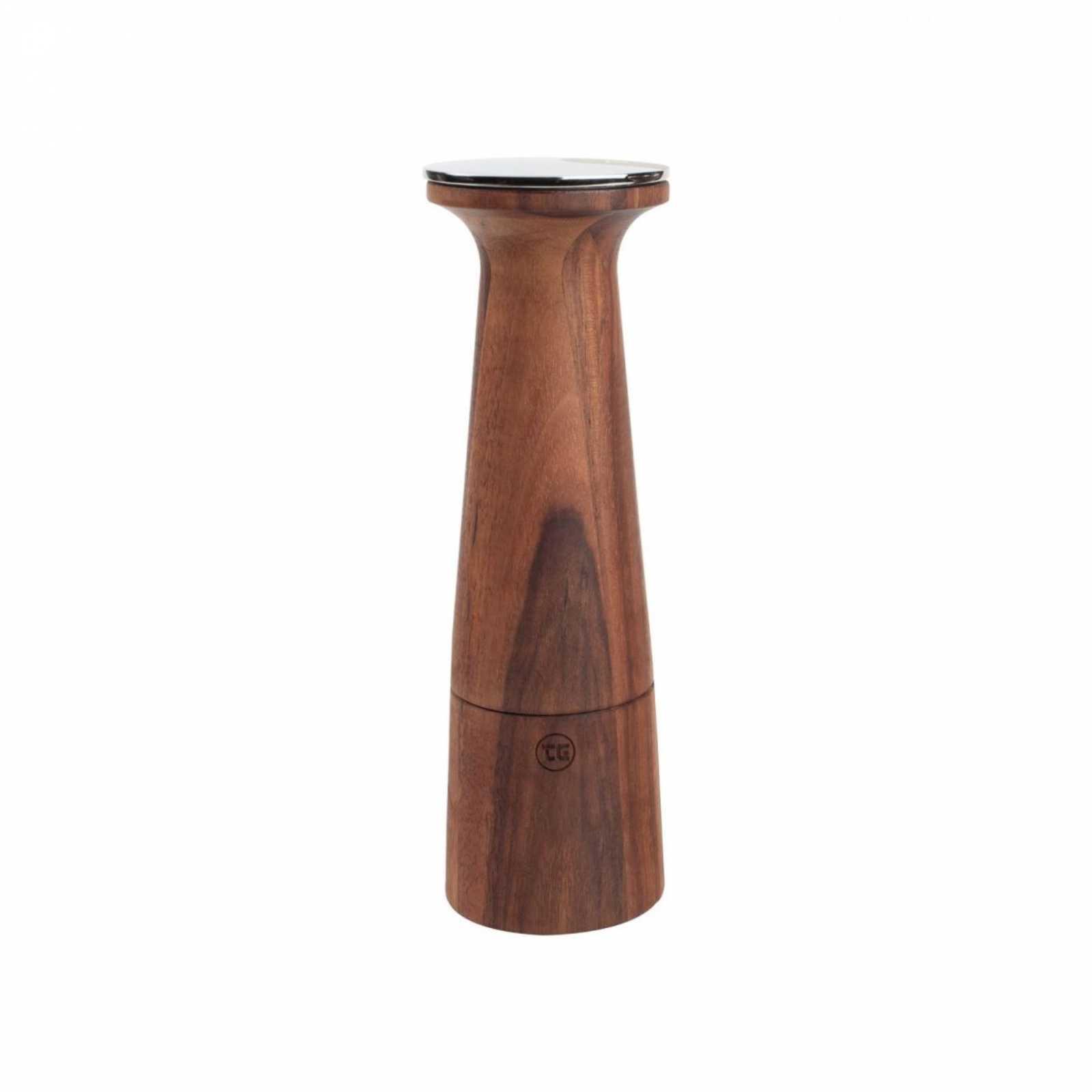 Онлайн каталог PROMENU: Мельница для перца T&G OBLIQUE, высота 20,5 см, темно-бежевый с темным рисунком T&G 11654